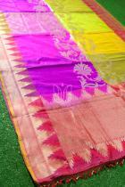 Rangkat Pure Katan Silk Banarasi Handloom Saree
