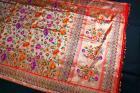 Red and Golden Minakari Banarasi Pure Katan Silk Handloom Saree